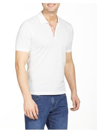 Bisse TS20Y20115 Ts 20115 60/2Merserize Kendinden Desenli Beyaz